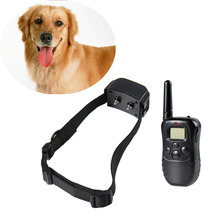 1pc Anti Bark Electronic No Barking Remote Electric Dog Training Shock Control Collar Trainer Vibrate Rechargeable Pet Products
