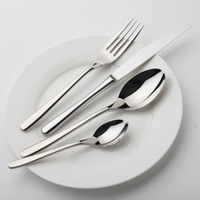 Dinnerware Set Steel Luxury Cutlery Set Vintage Quality 24 Pieces Tableware Knives Forks Dining Dinner Set Western Food
