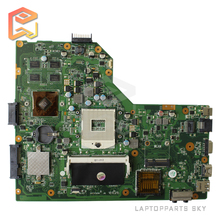 For ASUS laptop motherboard K54LY X54H X54HR K54HR mainboard rev:2.1 60-N7UMB1000-E12 DDR3 100% fully tested free shipping