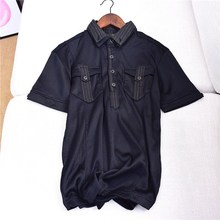 여름 새 youth men's 쿨 및 퀵-drying 두 번-층 collar short-sleeved T-탑 의상 Polo(China)