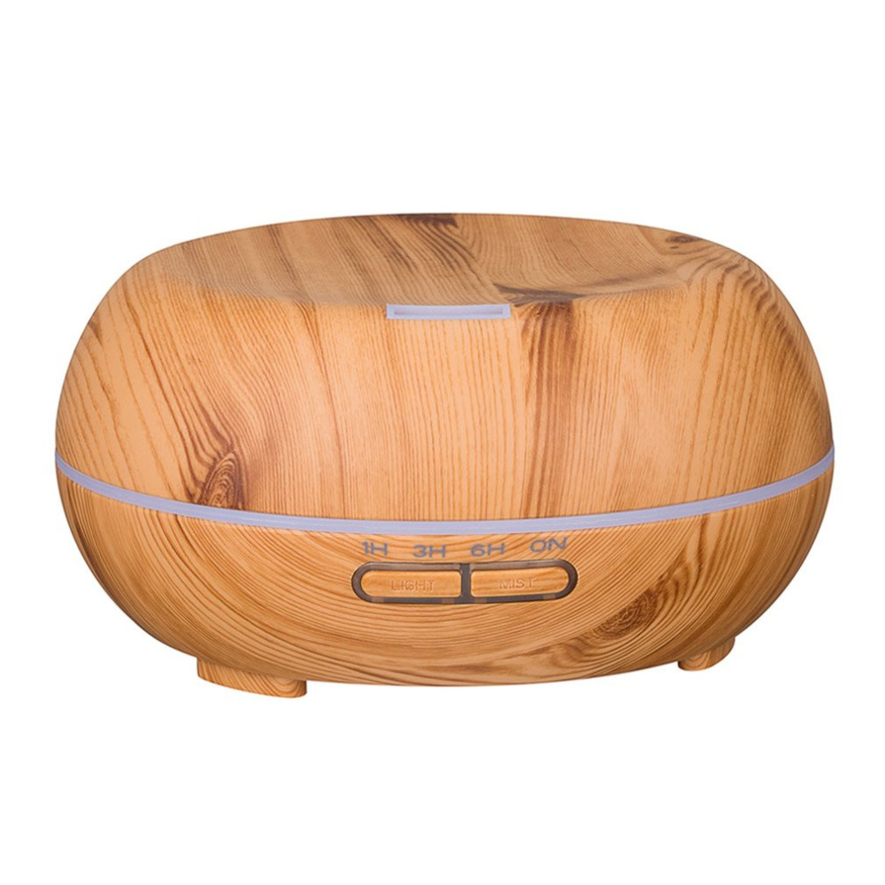 200ML Wood Aromatherapy Essential Oils Diffuser Altar Shape Humidifier Air Purifier Aromatherapy Machine<br>