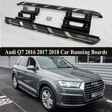 JIOYNG For Audi Q7 2016 2017 2018 Car Running Boards Auto Side Step Bar Pedals Brand New Nerf Bars(China)