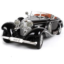 Maisto 1:18 MB 1936 500K Retro Classic Car Car model Diecast Model Car Toy New In Box Free Shipping 36055