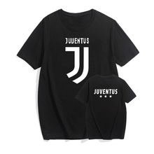Pkorli Fashion Men'S T-Shirt Juventus T Shirt Men Casual Cotton Short Sleeve Bianconeri Camiseta Fans Club T-Shirt Italian Tees