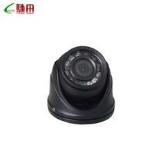 Free shipping Mini dome camera black color with 4pin aviation connector camera CMOS 900TVL chip