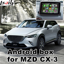 Android 4.4 5.1 GPS navigation box for Mazda CX-3 with cast screen youtube google play video interface(China)