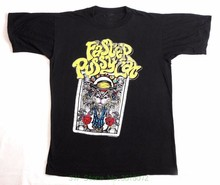 Fashion Men's T Shirts Faster Pussycat Reprint Vtg T Shirt 80&#039 ; S Tour Concert 1989 Glam Sleaze Metal(China)