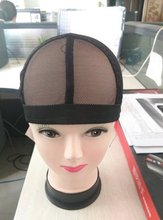 1pc high quality hairnet adjustable wig cap for making wig adjustable weave net for black women
