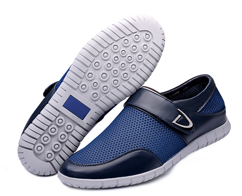 GN66855 Summer Breathable Shoes in Air Mesh Leather Comfortable Heightening Elevator Shoes Lift High 5cm<br><br>Aliexpress