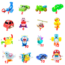 Wind up toy funny baby Zoo, Baby carton design Running Clockwork Spring Toy newborn baby clockwork toy(China)