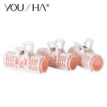 YOUSHA Magic Rollers Spiral Hair Curlers Bigoudis Magique Roller Set Hairstyles Large Hairdressing DIY Beauty Tool