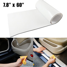 20x150CM Car Auto Clear Door Sill Edge Paint Protection Vinyl Film Scratch Sheet