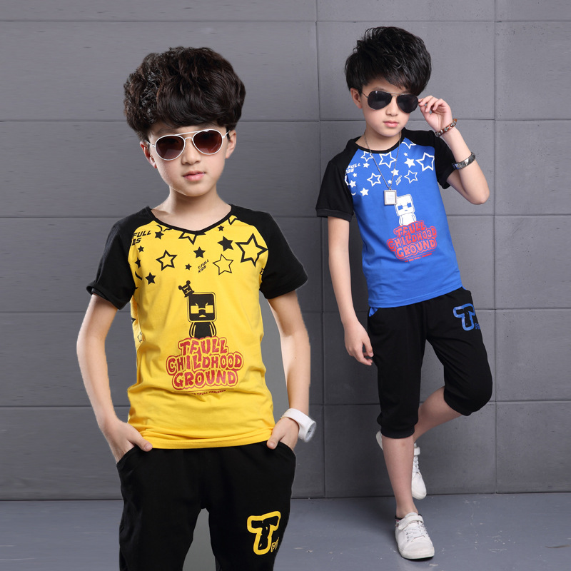 2017 New Summer Style Kids Clothes Set,Cotton Boys Clothing Set,Baby Boy Clothes,Baby Boy Clothing,Children Clothing Set<br><br>Aliexpress