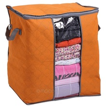 New Trustworthy Storage Box Portable Organizer Non Woven Clothing Pouch Holder Blanket Pillow Underbed Storage Bag Box