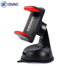 ESVNE Universal Mobile Phone Stand Windshield Desk Mount Car Phone Holder For iPhone Samsung Smartphone support cellular phone(China)