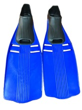 Free shipping. Size L(44-45) diving fins diving equipment (Blue color)(China)