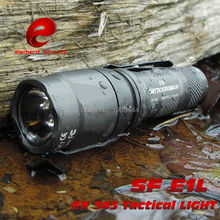 EX 343 ELEMENT SF E1L helmet equipped outdoor handheld tactical rail glare LED flashlight Free shipping