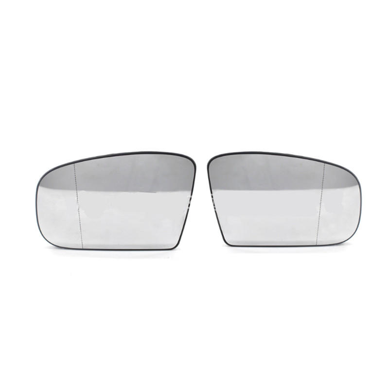 Left side Wide Angle wing mirror glass for Mercedes E-Class 2000-2002 heated