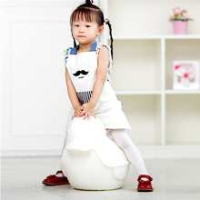 1pc 49*45cm Child Kitchen Apron Stripe star Moustache Pattern Cotton Cloth Cooking Eatting/Cleaning Personality Household Apron(China)