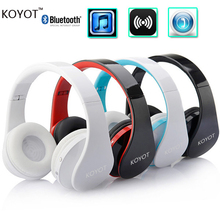 KOYOT Bluetooth Headset Wireless Headphones Stereo Foldable Sport Earphone Microphone headset bluetooth earphone