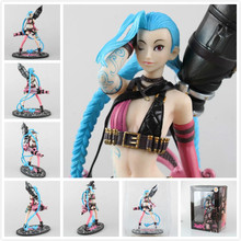 "2016 NEW Game  Jinx PVC Figure with Box 10"" Collectible Model Toy Christmas Gift"