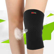 Mumian B03 Man Woman Breathable Volleyball Basketball Knee Guard Protecting Black Kneepad Sports Safety High Quality(China)
