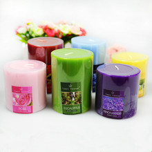 1Pcs 5x5cm/5x7.5cm Fashion Aromatherapy smokeless candles Aromatherapy essential oil Wedding candles romantic scented candles