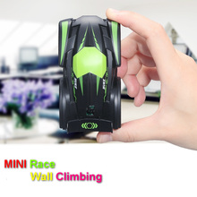 Buy Fun Mini rc car toys children child Electric radio remote control Climbing Wall stunt car indoor birthday gift for $21.00 in AliExpress store