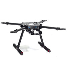 SK500-X4 4-Axis 500mm Wheelbase Quadcopter Frame Kit w/Carbon Fiber Landing Skid Gear FPV RC