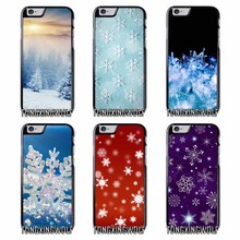 wonderful snowflake Cover Case For Samsung S4 S5 S6 S7 S8 Eege Plus Note 2 3 4 5 8 for Huawei P8 P9 P10 Lite 2017(China)
