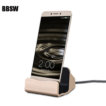 Buy BBSW Dock Charger Sync Data Docking Station Charging Desktop Cradle Stand iPhone X 8 8 Plus 6S 7 SAMSUNG Android Type-C for $3.43 in AliExpress store