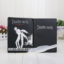 Free shipping New Death Note figure Cosplay Notebook & Feather Pen Book Anime Writing Journal