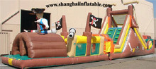 Inflatable Playground obstacle course children amusement park  Indoor/outdoor equipment indoor playground equipment for sale