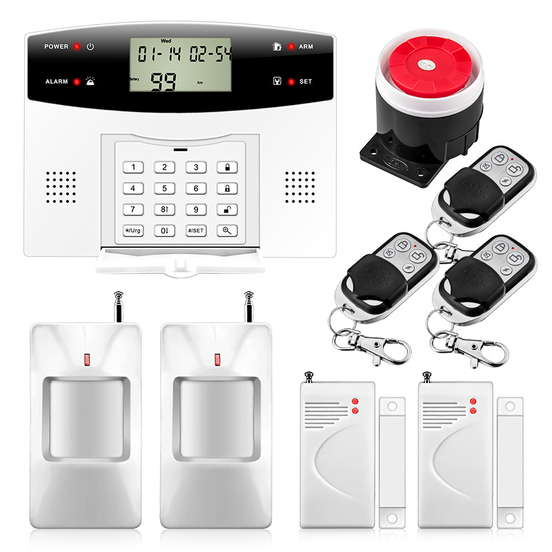 User manual home security system