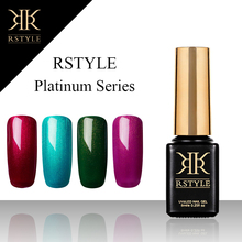 RSTYLE 8 ml 9001-9062  Pure Color UV Gel Nail Polish Soak Off Nail Gel Polish Nail Art Gel Semi-permanent Varnish