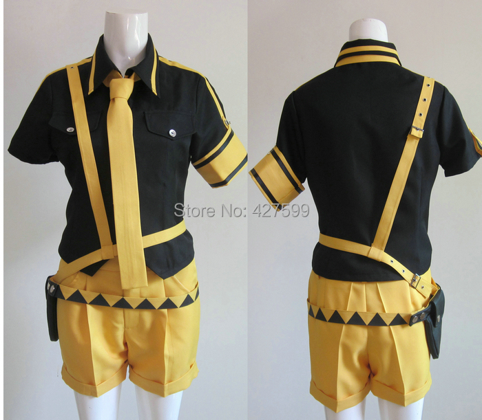 Hot Vocaloid 2 Love is War Kagamine Len Cosplay Costume Halloween Costumes