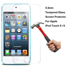 New Genuine Explosion Proof Tempered Glass Protective Film Screen Protector For Apple iPod Touch 5 5th 6 6th Gen Generation