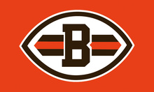 Cleveland Browns National Football Logo Flags 3ftx5ft Banner 100D Polyester Customized Flag Metal Grommets 90x150cm