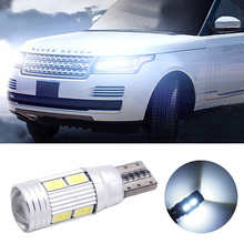 2pcs led W5W T10 canbus no error car parking bulbs light  for Land Rover v8  discovery 4 2  3  x8  freelander 2 defender A8 a9