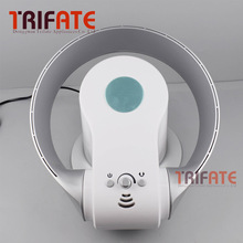 Round Shape Electric Fan without Vane Bladeless Fan Safe Using with Remote Control