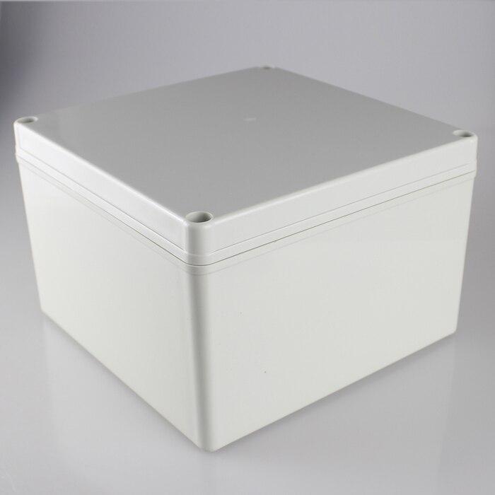 200*200*130MM IP67 Waterproof Plastic Electronic Project Box w/ Fix Hanger Plastic Waterproof Enclosure Box Housing Meter Box<br>