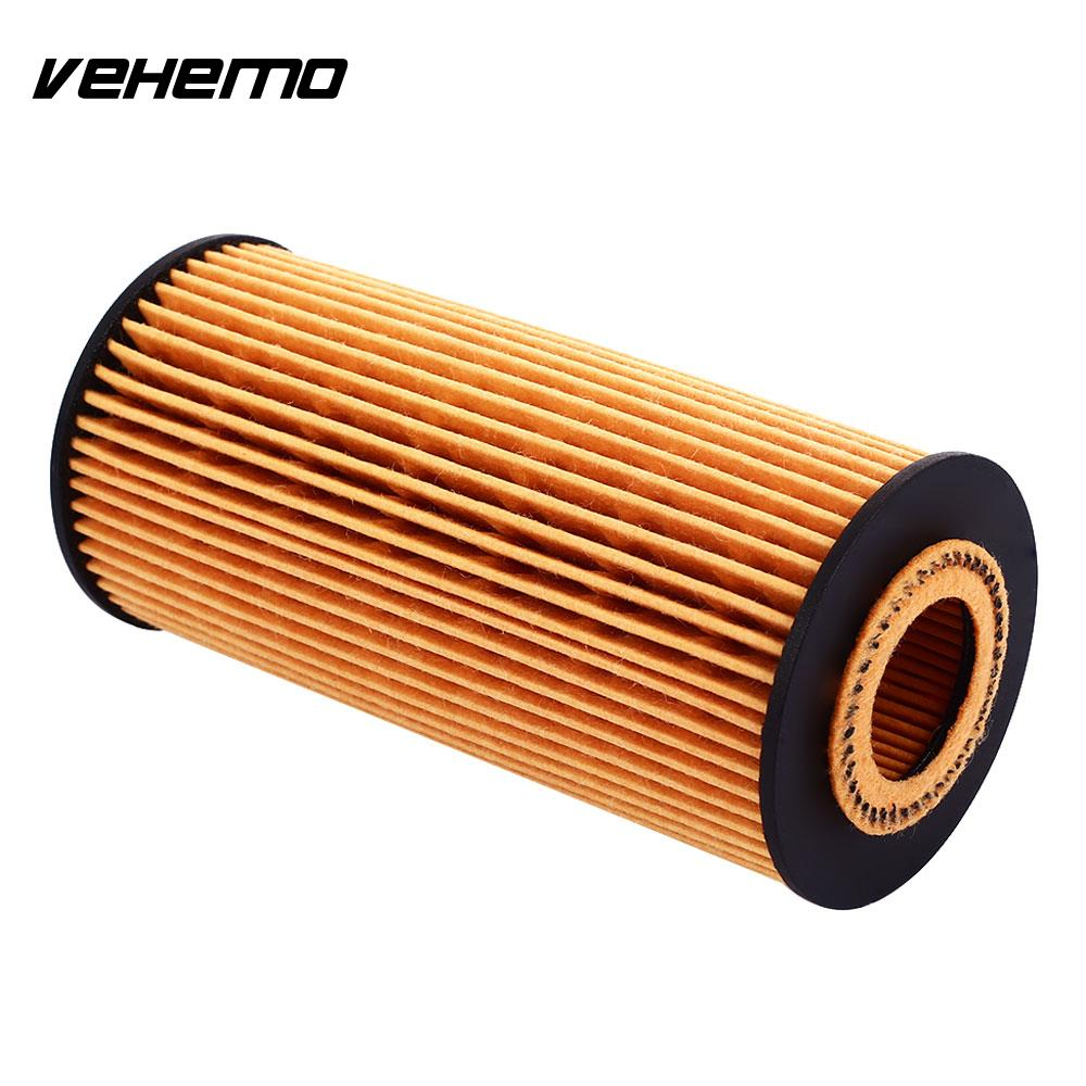 Vehemo Auto Oil Filter Oil Filter Car Oil Filter 06L115466 Fits Multiple Models Replacement Anti-Pollen Dust Lubricating