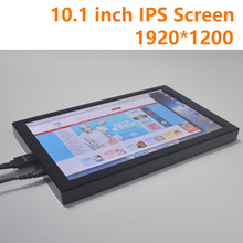 10.1 Inch 1920*1200 IPS Display Screen Graphic LCD Module DIY Auto Car HMDI Portable Raspberry Pi 3 Xbox PS4 Aerial Monitor