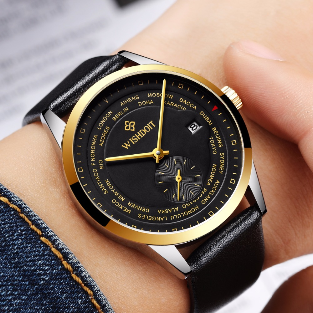 2017 Simple Men Watches Mechanical Business Waterproof Watches Men Casual Self Wind Automatic Mechanical Wrist Watches<br>