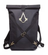 New Official Assassins Creed Syndicate Logo Black Folded Backpack Bag 10pcs/lot Free DHL