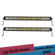 2pcs 100w LED Off Road Work Light Bar 23'' Car SUV UTE 4x4 4WD ATV UTV Golf 12v 24v Combo Driving Light Daytime Running Light