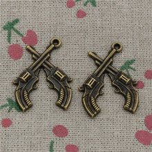 Buy western pendants for jewelry making and get free shipping on 37pcs charms crossed pistols revolvers western 3123mm antique bronze vintage pendants for jewelry making mozeypictures Image collections