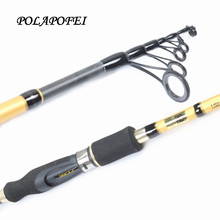 POLAPOFEI Carbon Fishing Rod Travel Spinning Rods Casting Rod M 10~25g Lure Fishing Pole Carp Fly Fish Tackle Olta Pesca D228