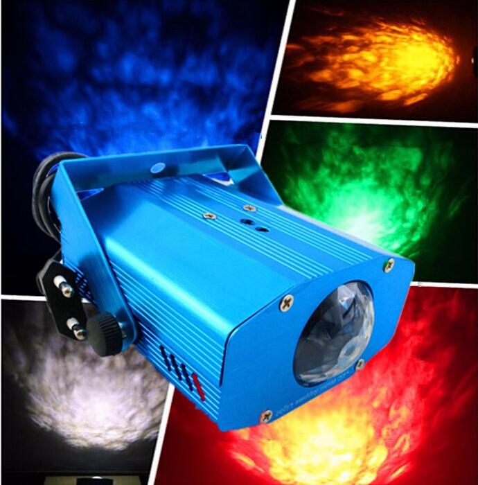 LED Water Ripples Light Laser Stage Light Colorful Wave Ripple Shining Effect Disco Light for Party Disco Concert Balls<br><br>Aliexpress