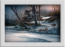 Terry Redlin Changing_Seasons_Winter oil painting HD canvas printing art Giclee home decoration murals holiday gift no frame(China)